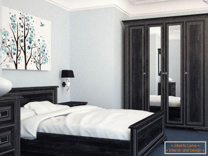 Moduláris bútorok egy kis hálószobának skandináv stílusban. 38027bffc5